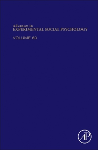Cover image for Advances in Experimental Social Psychology