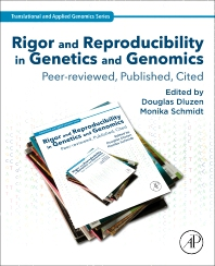Cover image for Rigor and Reproducibility in Genetics and Genomics
