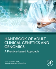 Cover image for Handbook of Clinical Adult Genetics and Genomics