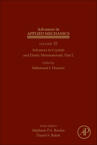 Advances in Crystals and Elastic Metamaterials, Part 2 - 1st Edition - ISBN: 9780128174791, 9780128174807