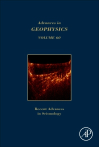 Book Series: Advances in Geophysics