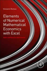 Cover image for Elements of Numerical Mathematical Economics with Excel