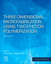 Cover image for Three-Dimensional Microfabrication Using Two-Photon Polymerization