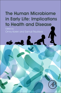 Cover image for The Human Microbiome in Early Life