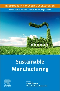 Sustainable Manufacturing - 1st Edition - ISBN: 9780128181157, 9780128181164