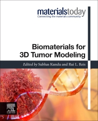 Cover image for Biomaterials for 3D Tumor Modeling