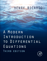 Cover image for A Modern Introduction to Differential Equations