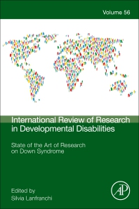 Cover image for State of the Art of Research on Down Syndrome