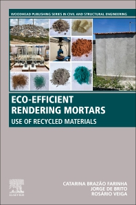 Cover image for Eco-efficient Rendering Mortars