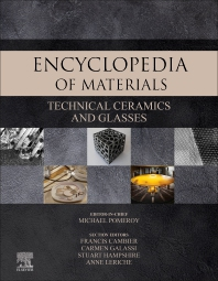 Cover image for Encyclopedia of Materials: Technical Ceramics and Glasses