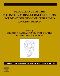 Cover image for FOCAPD-19/Proceedings of the 9th International Conference on Foundations of Computer-Aided Process Design, July 14 - 18, 2019