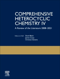 Cover image for Comprehensive Heterocyclic Chemistry IV