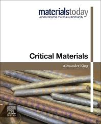 Critical Materials - 1st Edition - ISBN: 9780128187890, 9780128187906