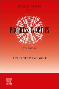Cover image for Progress in Optics: A Tribute to Emil Wolf