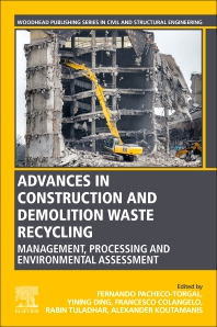 Cover image for Advances in Construction and Demolition Waste Recycling