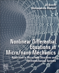 Cover image for Nonlinear Differential Equations in Micro/nano Mechanics