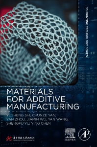 Cover image for Materials for Additive Manufacturing