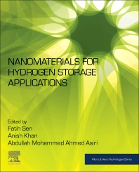 Cover image for Nanomaterials for Hydrogen Storage Applications
