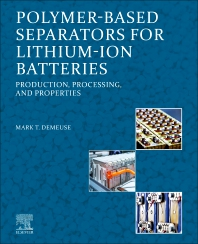 Cover image for Polymer-Based Separators for Lithium-Ion Batteries
