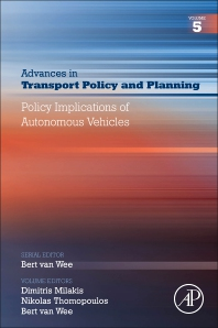 Policy Implications of Autonomous Vehicles - 1st Edition - ISBN: 9780128201916, 9780128201923