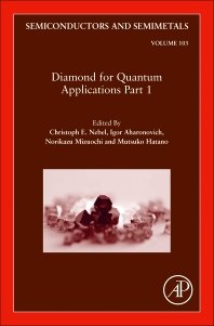 Cover image for Diamond for Quantum Applications Part 1