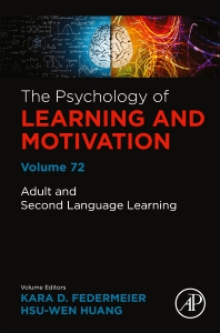 Cover image for Adult and Second Language Learning