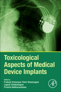 Toxicological Aspects of Medical Device Implants - 1st Edition - ISBN: 9780128207284