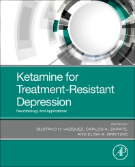 Cover image for Ketamine for Treatment-Resistant Depression