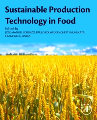 Cover image for Sustainable Production Technology in Food