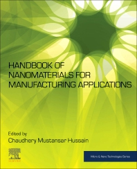 Cover image for Handbook of Nanomaterials for Manufacturing Applications