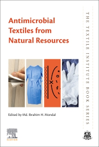 Cover image for Antimicrobial Textiles from Natural Resources
