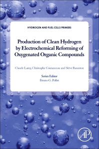 Cover image for Production of Clean Hydrogen by Electrochemical Reforming of Oxygenated Organic Compounds