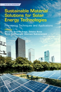 Sustainable Material Solutions for Solar Energy Technologies - 1st Edition - ISBN: 9780128215920, 9780128215937
