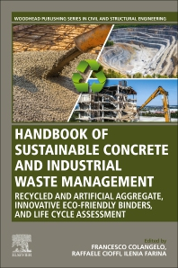 Cover image for Handbook of Sustainable Concrete and Industrial Waste Management