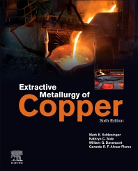 Extractive Metallurgy of Copper - 6th Edition - ISBN: 9780128218754