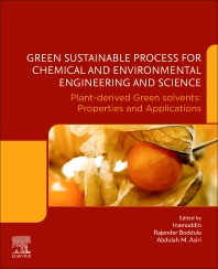 Green Sustainable Process for Chemical and Environmental Engineering and Science - 1st Edition - ISBN: 9780128218860