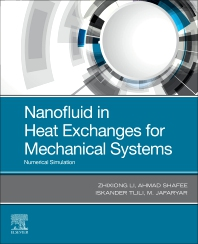 Cover image for Nanofluid in Heat Exchangers for Mechanical Systems