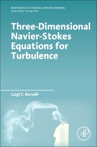 Cover image for Three-Dimensional Navier-Stokes Equations for Turbulence