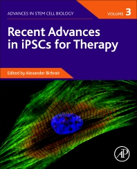 Cover image for Recent Advances in iPSCs for Therapy, Volume 3