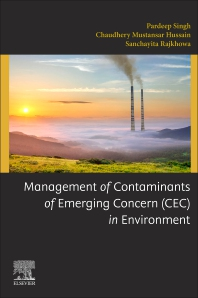 Cover image for Management of Contaminants of Emerging Concern (CEC) in Environment