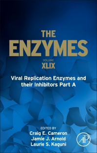 Cover image for Viral Replication Enzymes and their Inhibitors Part A