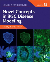 Cover image for Novel Concepts in iPSC Disease Modeling, Volume 15