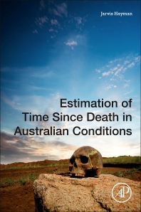 Cover image for Estimation of Time since Death in Australian Conditions
