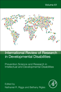 Prevention Science and Research in Intellectual and Developmental Disabilities - 1st Edition - ISBN: 9780128245859