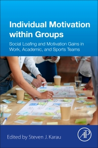 Individual Motivation within Groups - 1st Edition - ISBN: 9780128498675