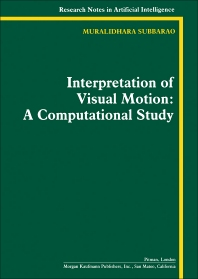 Interpretation of Visual Motion - 1st Edition - ISBN: 9780273087922, 9781483258928