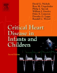 Cover image for Critical Heart Disease in Infants and Children