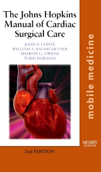 Cover image for The Johns Hopkins Manual of Cardiac Surgical Care