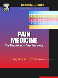 Cover image for Pain Medicine