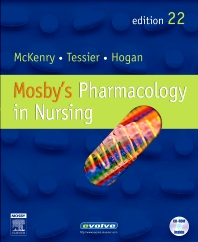 Mosby's Pharmacology in Nursing - 22nd Edition - ISBN: 9780323092449